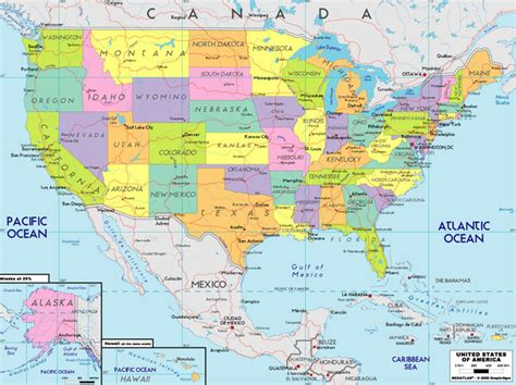 map  usa map
