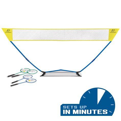 foto de EastPoint Sports Easy Setup Regulation Size Badminton Set