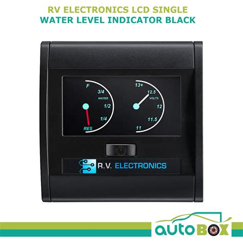 Boat Battery Level Indicator by Caravan Lcd Single Tank Water Level Indicator And
