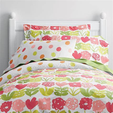Poppy Dot Percale Sheets Bedding Set Company Kids