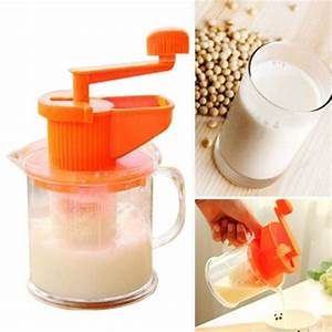 New Manual Juicer 1pc Manual Soy Milk Hand Carrot Soybean