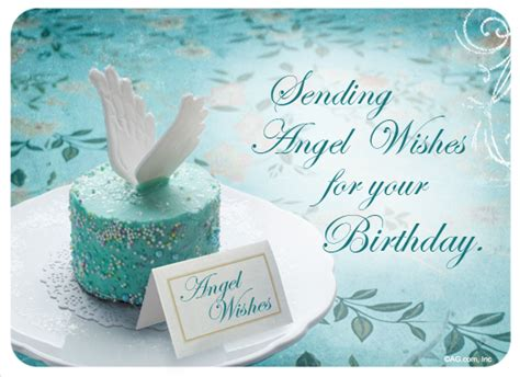 Angel Wishes  Happy Birthday Ecard  American Greetings