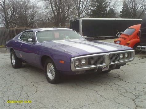 purchase new 1973 dodge charger muscle car custom paint in indianapolis indiana united states