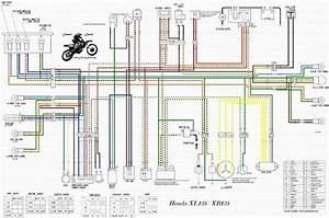 1974 Honda Xl 125 Wiring Diagram