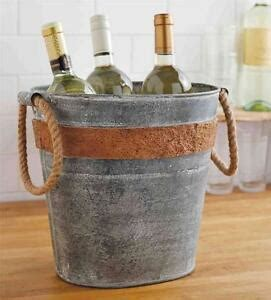 cooler tubs for drinks mud pie circa cork band galvanized tin drink tub