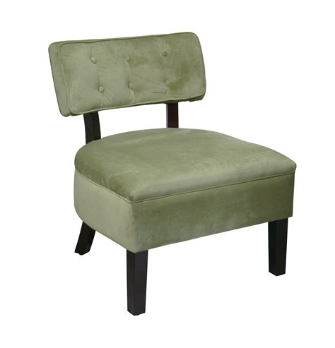 Green Accent Chair  Furniture Living Room