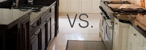 painted vs stained kitchen cabinets cabinet refinishing 101 paint vs stain vs rust 7316
