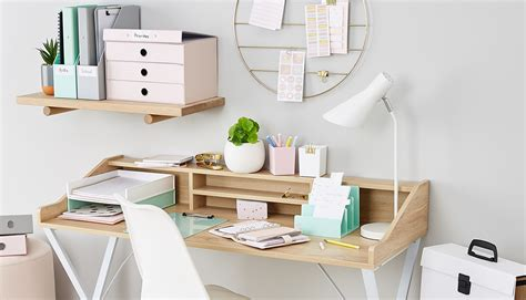 Office Desk Kmart by How To Organise Your Desk With Colour Kmart