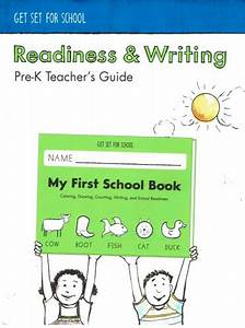 Get Set For School - Readiness  U0026 Writing Pre-k Teacher U0026 39 S Guide  5th Edition