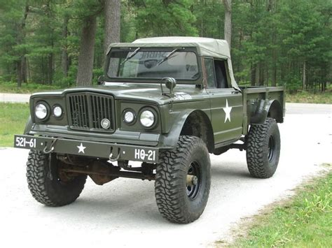 military jeep front kaiser m 715 based on jeep gladiator pickup one of my