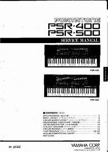 Yamaha Psr 400 : yamaha psr 400 psr 500 service manual download schematics ~ Jslefanu.com Haus und Dekorationen