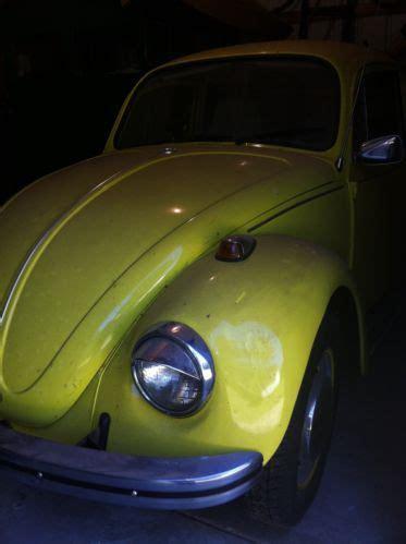 buy   restored yellow volkswagen beetle bug