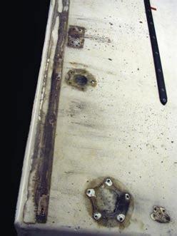 fiberglass deck repair part  west system