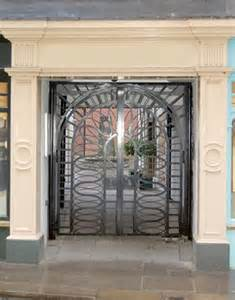 Wrought Iron Entry Gate Designs