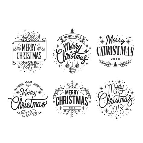 christmas elements vectors photos and psd files free download