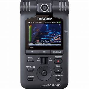 Tascam Handheld Audio And Video Recorder