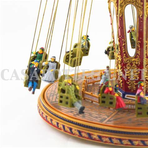 Giostra ruota panoramica gold label carouselle carillon ...