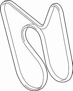 2003 Gmc Savana 2500 Ac Belt  Drive Belt  Serpentine Belt