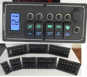 China Rocker Switch Panel  Voltmeter   Panel Holder Arb