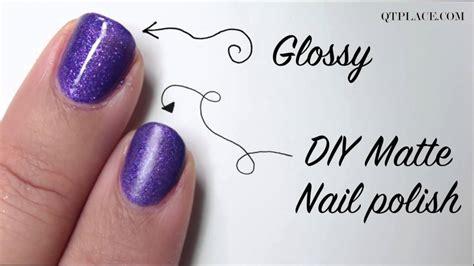 Diy How To Make Matte Nail Polish