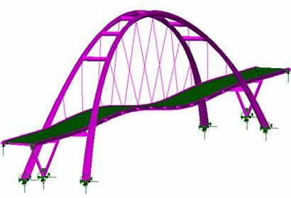 Bridge Navvies Eigenmode Lusas Eigenmodes Results Viewing