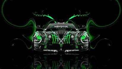 Monster Energy Ferrari Wallpapers Laferrari Neon Tony
