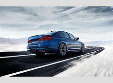 2019 BMW M5 sky snow winter hills road hd 4k wallpaper