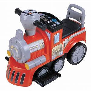 New Star My First Train Battery Powered Riding Toy - Red