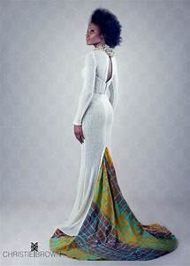 african inspired ankara wedding gown african print With african print wedding dresses