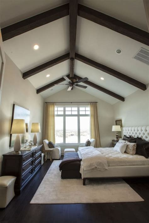 Decorating Ideas Vaulted Ceilings by 30 Vaulted Ceiling Bedroom Design Ideas For Inspiration