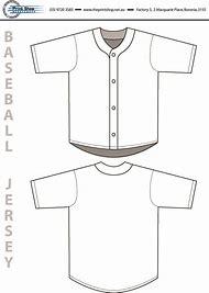 Baseball Jersey Design Template