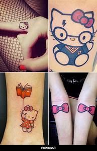 Die Besten 25 Hello Kitty Tattoos Ideen Auf Pinterest