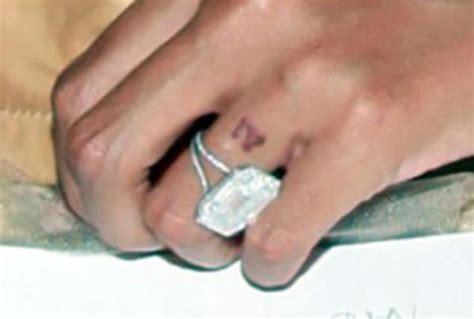 beyonc 233 s engagement ring ringspo