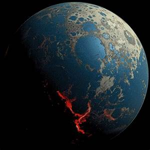 How the Earth got a facelift: Incredible animations reveal ...