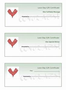 Best photos of make your own gift certificates make your own gift certificate templates make for Create printable certificate