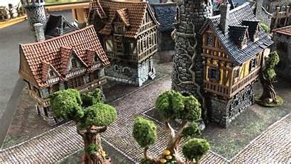 Village Wargames Printed Wereld