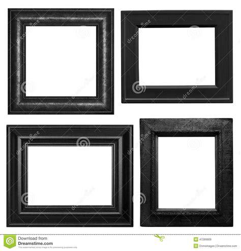 cornici nere cornici nere fotografia stock immagine 47289909