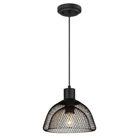 westinghouse 1 light matte black pendant 6345100 the