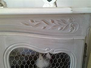 Grillage Garde Manger : meuble style louis xv proven al relook en garde manger grillag c rus finition patine et ~ Teatrodelosmanantiales.com Idées de Décoration