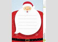 Santa Claus Christmas Card Stock Vector Illustration of