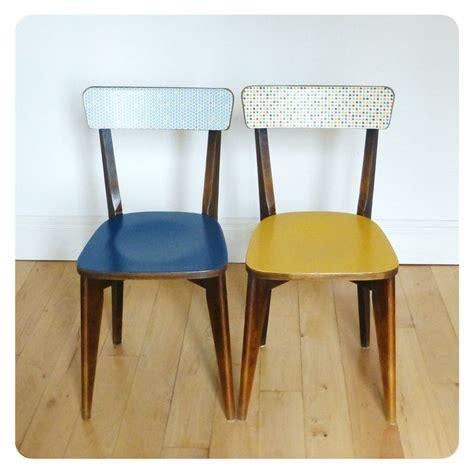 chaise bistrot d occasion paire de chaises bistrot vintage retro pinteres