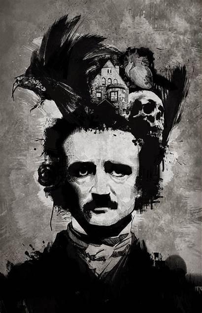 Poe Edgar Allan Wallpapers Allen Desktop Quotes