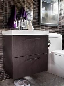Modern small bath makeover hgtv for Bathroom remodel order of tasks