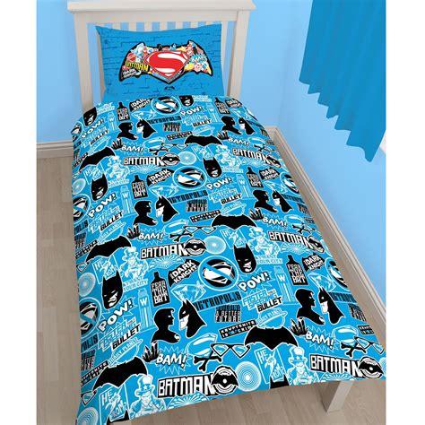 superman kostüm für kinder dc comics batman superman bettbezug set bettw 228 sche kinder jungen ebay