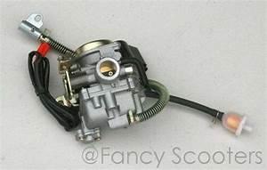 49cc  50cc Gy6 139 Qmb Carburetor With Fuel Float Bowl