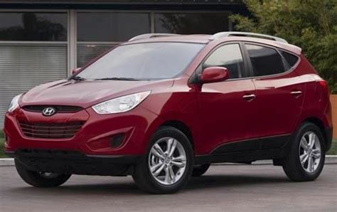 With its good looks and plenty of features, the 2012 hyundai tucson keeps pace in the compact suv field, but its tight interior and stiff ride may deter some buyers. Used 2012 Hyundai Tucson SUV Pricing & Features   Edmunds