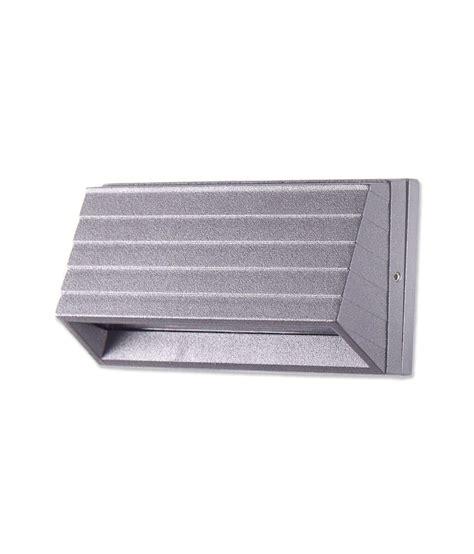 beautiful dark grey led rectangular wall light buy
