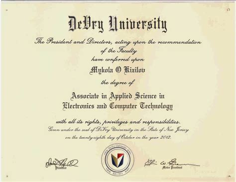 DEVRY UNIVERSITY - World Market Of Education