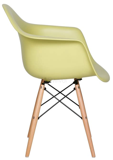 charles e style daw dining arm chair abs plastic style swiveluk