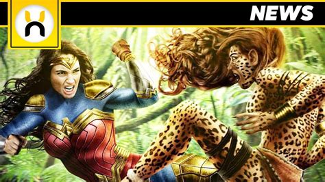 Kristen wiig's appearances in the wonder woman 1984 trailers have been limited to barbara ann minerva in her human form, prior to becoming imbued with cheetah's appearance and powers. Wonder Woman 2 New Suit & Cheetah Details REVEALED - YouTube